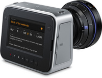 Blackmagic Cinema Camera 背面
