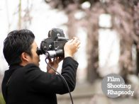 [Film Shooting Rhapsody:はじめての16mm Film編]Vol.04 桜の撮影本番
