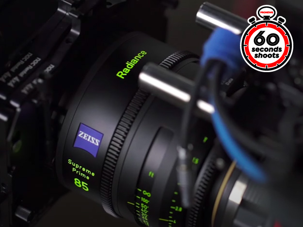 Carl Zeiss「ZEISS Supreme Prime Radiance」[再現NAB2020 60seconds Shoots]